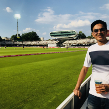 Male Professional, Nishank Tyagi, seeking flatmate in Chippenham